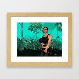 Survivor steady Framed Art Print