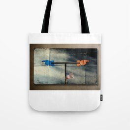 Immigration and The Wind Of Times. Tote Bag