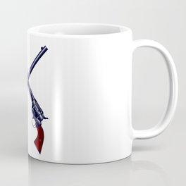 Crossed Guns Coffee Mug
