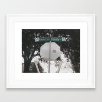 american beauty Framed Art Prints featuring American Beauty by JordanLouise