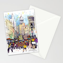 Second Line Parade, New Orleans Stationery Cards