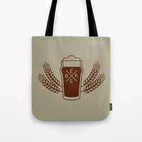 beer Tote Bags featuring Beer. by Sparganum
