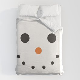 Snowman Holiday Duvet Cover