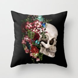 amazing scull Throw Pillow