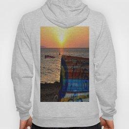 sunset ( Nubia)  Trapani Sicily Hoody