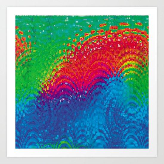 eruption Art Print
