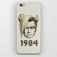 1984 iPhone & iPod Skins featuring 1984 by Eric Fan