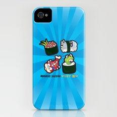 Mario Sushi Cyan iPhone (4, 4s) Slim Case
