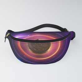 The Little Astronaut on a Tiny Fractal Planet in a Long Lost Nebula Fanny Pack