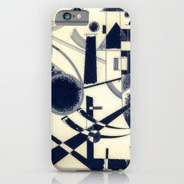 Wassily Kandinsky Lithograph III iPhone Case