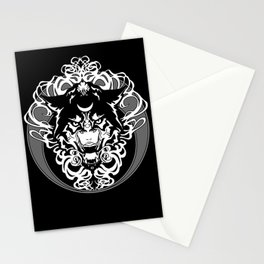 Dark Art Nouveau - Lunar Stationery Cards