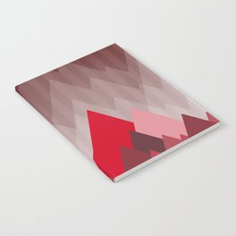 Triangular Mountain Range Notebook
