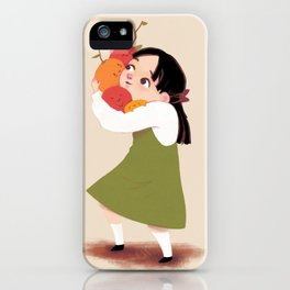 Seed people and Girl iPhone Case