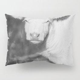 Cute Calf (Black and White) Pillow Sham