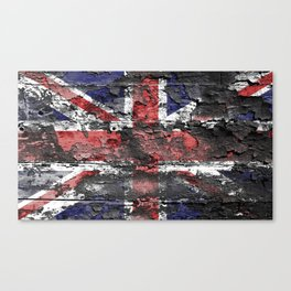 Union Jack (United Kingdom Flag) Canvas Print
