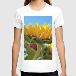 A Summer Bouquet 17 - sunflowers, roses and cockscomb T-shirt