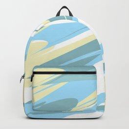 Island Breezes print Backpack