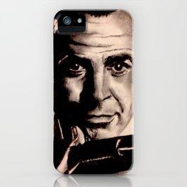 Sean Connery as James Bond iPhone Case