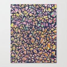 Graphic Terrazzo Canvas Print
