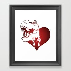 Gangsta of Love Framed Art Print