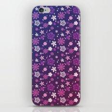 flowers field iPhone & iPod Skin
