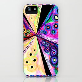Neon Mosaic iPhone Case