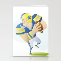 football Stationery Cards featuring Football by Dues Creatius
