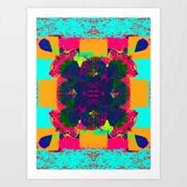 Acid Flower - Sir Parker Art Print