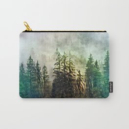 Tree's in the mist Carry-All Pouch