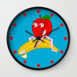 Osteopath Fruit Wall Clock