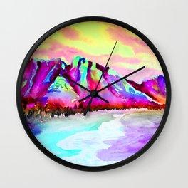 SUNSET BLISS Wall Clock