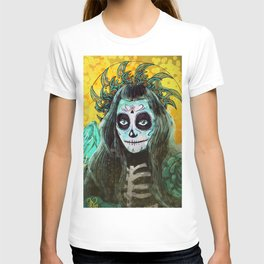 Day of the Dead Bumble Bee T-shirt