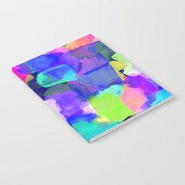 Brushstroke Blue Notebook