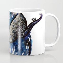 Galaxy Betta Fish Watercolor Coffee Mug