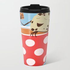 Relax. Don't Crumble! Metal Travel Mug