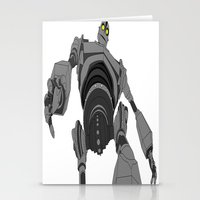 iron giant Stationery Cards featuring Iron Giant. by Steven Goddard