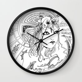 Intoxicating Moment Wall Clock