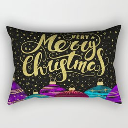 Christmas Greetings 4 Rectangular Pillow