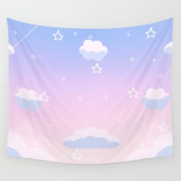 Cosmic Sky Candy Floss Wall Tapestry