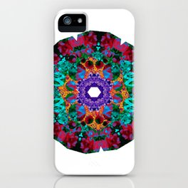 Flower Eye iPhone Case