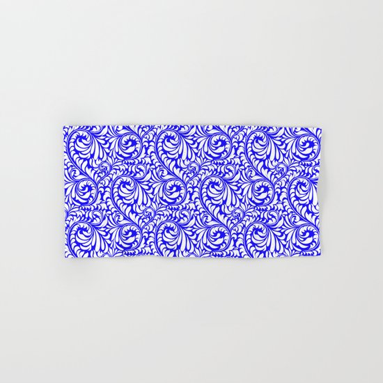 Purple Swirls Hand & Bath Towel