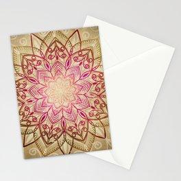 Desert Mandala Stationery Cards