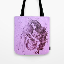 Moon Child II Tote Bag
