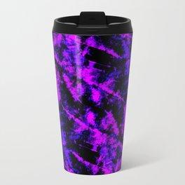 ultraviolet grunge Metal Travel Mug