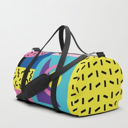 Memphis pattern 53 - 80s / 90s Retro Duffle Bag