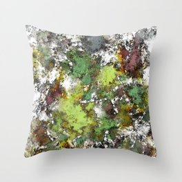 Invisible surface Throw Pillow