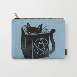 WITCHCRAFT CAT (Blue) Carry-All Pouch