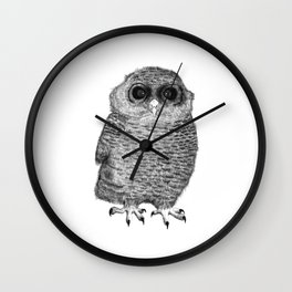 Owl Nr.3 Wall Clock