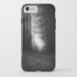 In the deep dark forest... iPhone Case