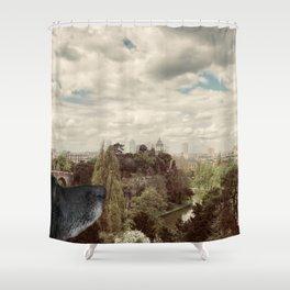 Sous le ciel de Paris Shower Curtain